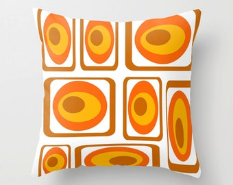Modern Pillow Cover, MidCentury Modern  Pillow Cover, Retro Pillow Cover, Cool Pillow Cover, Decorative Pillow Cover, Pillow Cover