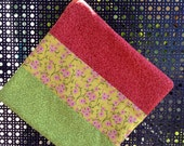 Hot Pad in Pink, Green and Yellow