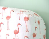 Flamingo Crib Sheet- Ready to be Shipped