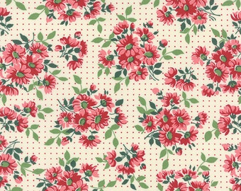 Bread 'n Butter - Dotted Daisy in Ivory by American Jane for Moda Fabrics