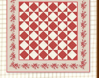 Miss Scarlet - Glad Tidings Quilt Pattern by Minick & Simpson