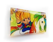 RESERVED Rainbow Brite Purses - Upcycled Vintage Comic Book in Vinyl
