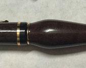 "Order for ""shellt"" only - Hand Turned Wooden Cigar Pen"