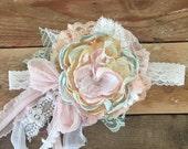 In the garden flower headband cozette couture