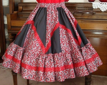 square dance skirt