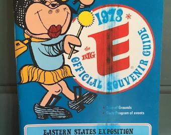 Vintage Big E Souvenir Booklet 1973