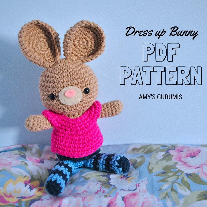 Small Amigurumi Bunny Pattern : Amigurumi Pattern Little Bunny