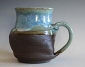 TWISTED Mug, 17 oz,  unique coffee mug, handmade ceramic cup, handthrown mug, stoneware mug, wheel thrown pottery mug, ceramics
