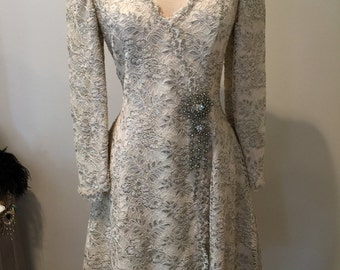 Vintage Badgley Mischka Dress