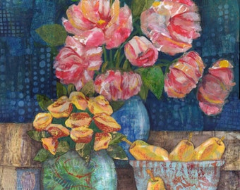 Peonies for Mother 11 x 14 print