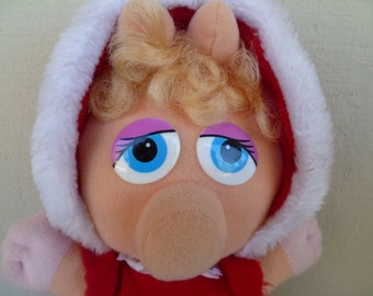 Muppet Baby Miss Piggy McDonalds 1987 Plush