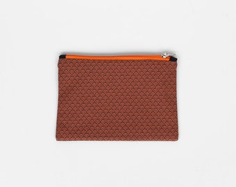 Coin purse / wallet or zipper pouch WAVES