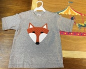What Does the Fox Say? Gray Short Sleeve T-shirt