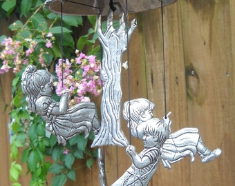 Wind Chimes - Children - Pewter