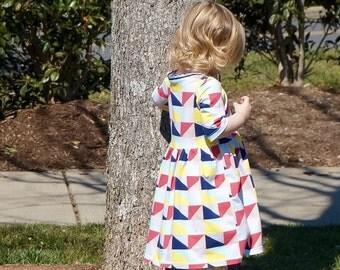 Girl's Dress - Everyday Play Dress - Girl's Clothing - Knit Dress