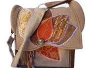 Large JW Field Service Bag, Book Front Pocket, Back Zippered Tablet Pocket, By Vic Von Pip