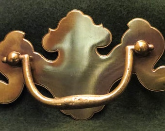 Brass Chippendale Style Drawer Pulls for DIY Project