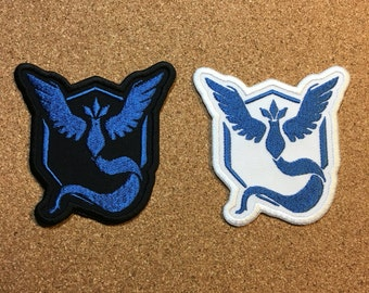 Team Mystic Embroidered patch