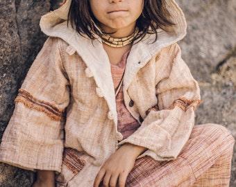 Earthy Pixie Chilldren Jacket ~ Khadi Cotton ~