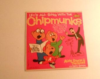The Chipmunks  record 45 rpm Seville