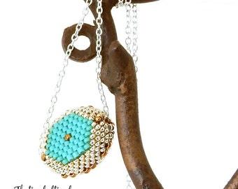 Beaded Bead Necklace - Sale