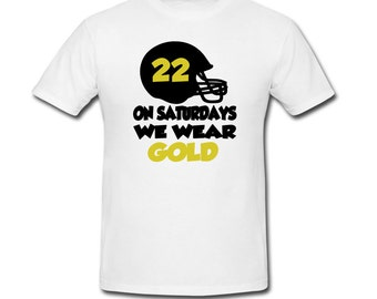 Football Saturdays Tee-Multiple color choices