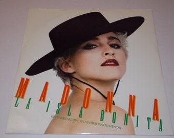 "1987 - Madonna - La Isla Bonita - 12"" Single Vinyl Record - 80's / Classic Pop"