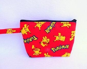 Pokemon  Makeup Bag // Picachu Cosmetic Bag // Pokemon Go