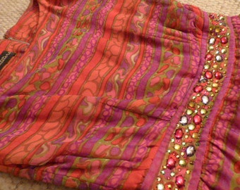 Neusteters Silky, Bright Party Dress 1980s