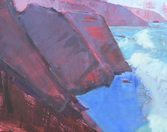 Big Sur, California Landscape Painting