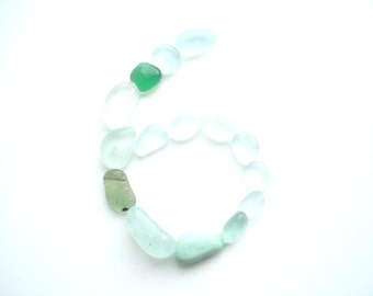 Pastel Sea Glass collection Number 6 -  from Seaham beach