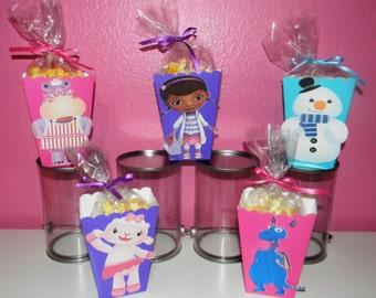 Doc Mcstuffin Snack Boxes