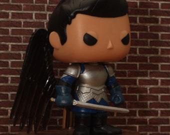 Garrison Ready Castiel - Supernatural Custom Funko pop toy