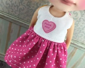 Blythe Play Suit or Pyjamas - Swear Hearts - F you