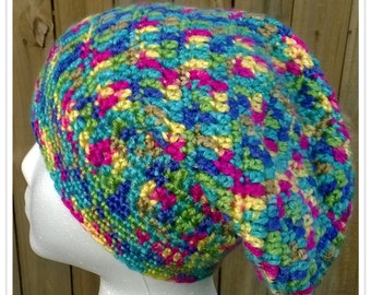 Slouchy Hat in SUPER Bright Colors