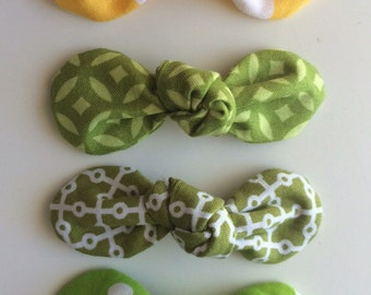 St Patrick's Day Knot Bows