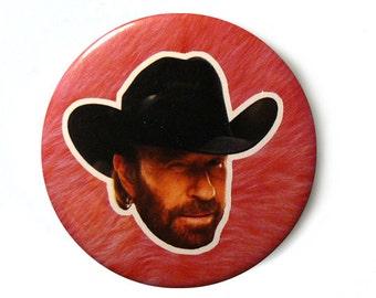 Button - Pins // Chuck Norris