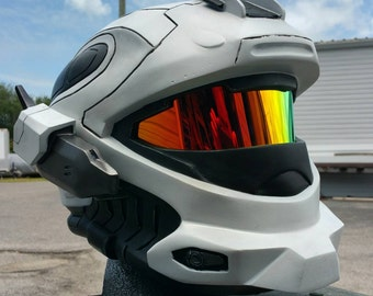 Halo Reach Recon Helmet Replica - LEDs - Wearable - Paintwork by Johnson Arms Props