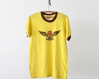 SALE 1980s KDKB radio ringer t-shirt, vintage music tee