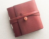 Leather Journal, Leather Notebook, Leather Book, Blank Book, Diary, Leather Sketchbook