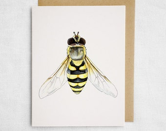 Hoverfly Card