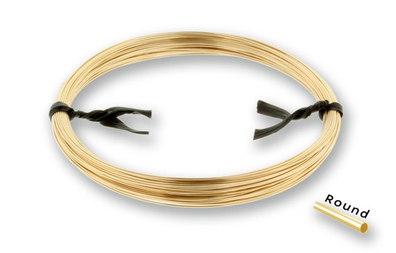 14Kt Gold Filled 24gauge Dead Soft Round Wire - 1ozt  NEW low Wholesale Price - Made in USA (2188)/1