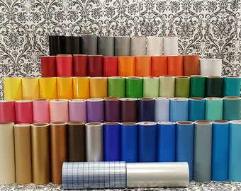 5 12X24 Sheets of Adhesive Vinyl. Pick any five colors - mix and match. Oracle 631