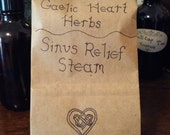 1.6 oz of herbal sinus and respiratory relief steam