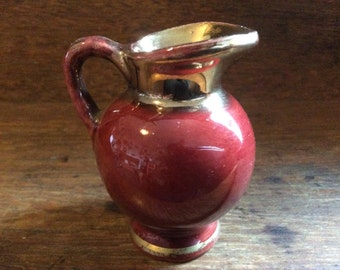 Vintage English small jug pitcher creamer circa 1950-60's / English Shop