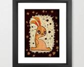 The Velveteen Rabbit - art print