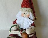 Santa Doll - Santa Babe With Sign and Bell