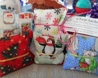 Christmas Catnip Sachet from CTnip