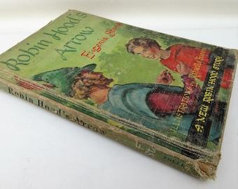 Vintage Kids Book | Robin Hood | 1950s Books | Readers | Children Book