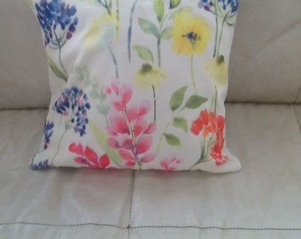 Hand made floral cushion